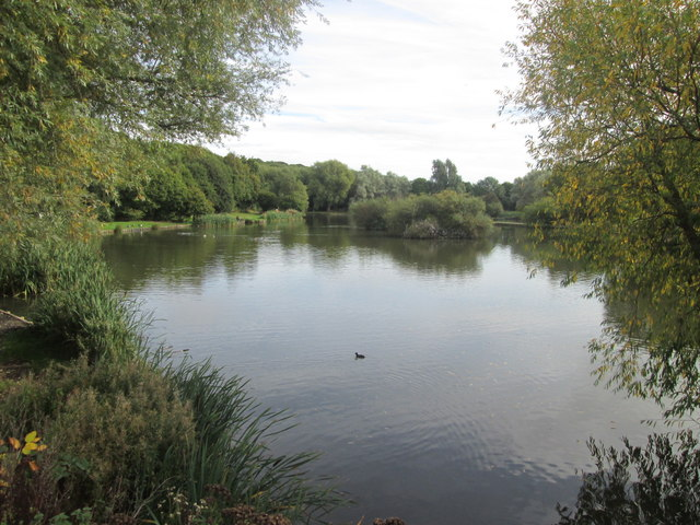 Lake in the Dearne Valley Park