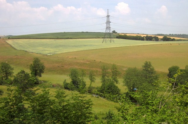 Mole valley at Little Hele Wood