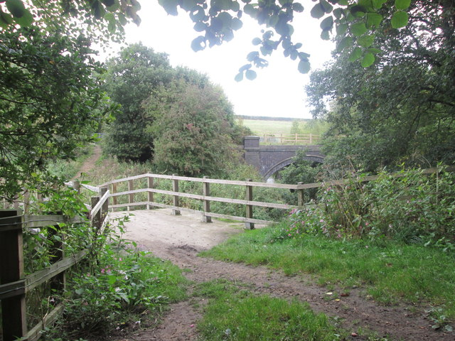 Bridges over the River Dearne at Storrs Wood