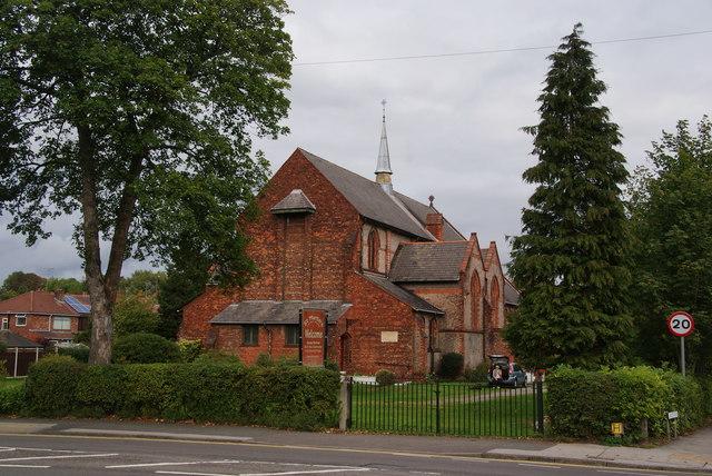 St Martin's Church, Heaton Norris