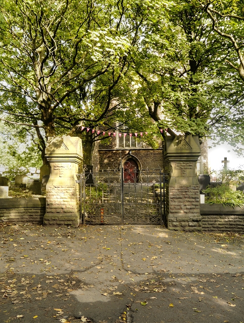 Newhey Church Gates