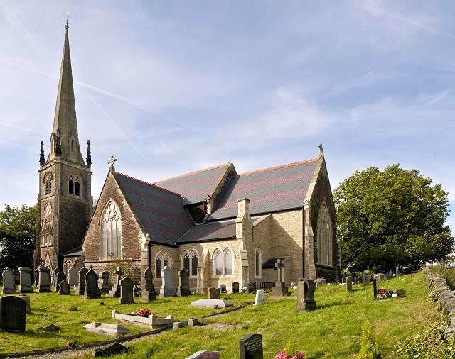 The Parish Church of St Thomas, Newhey