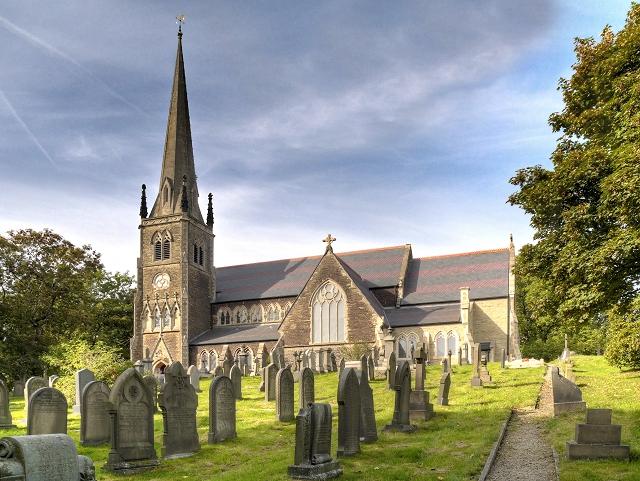 Newhey, The Parish Church of St Thomas