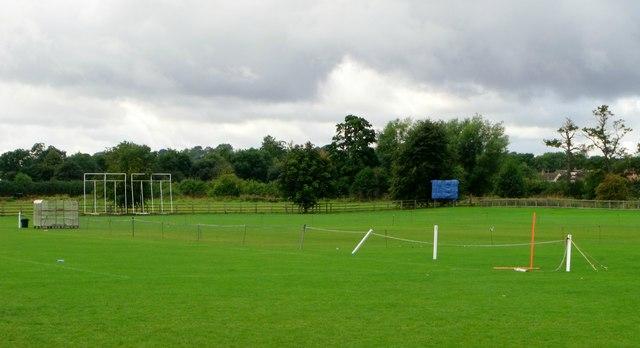 Cricket pitch, Cropredy