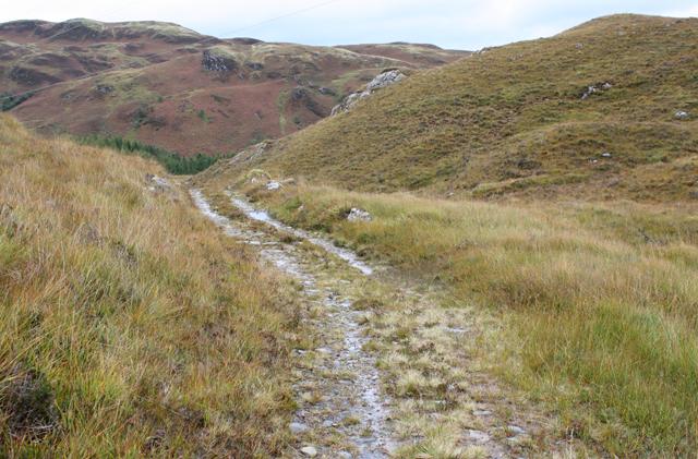 Track east of Allt Ghleann Aoidhdailean