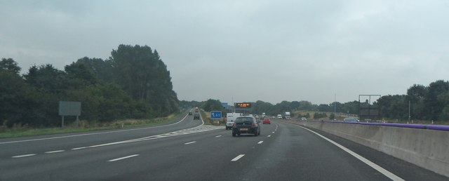 M6 at Junction 12