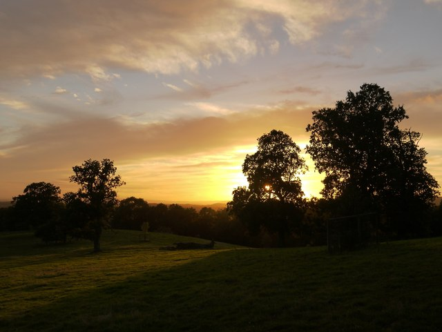 Sunset at Leith Hill Place (1)