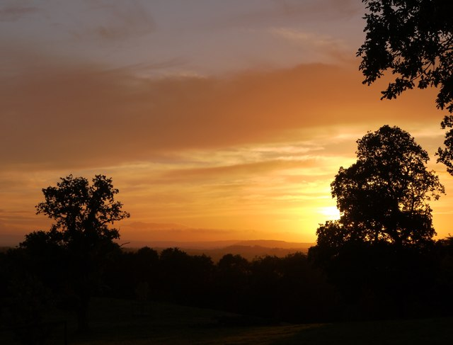 Sunset at Leith Hill Place (2)