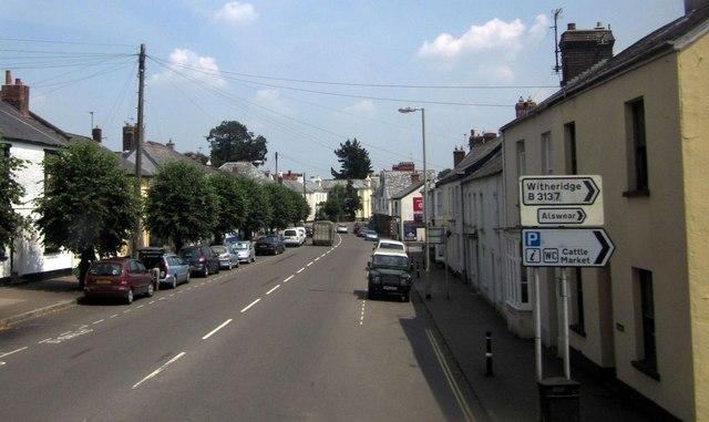 East Street, South Molton