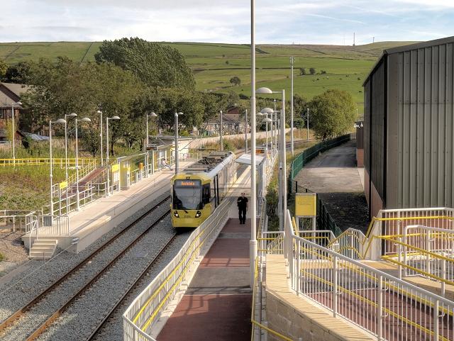 Newhey Tram Station