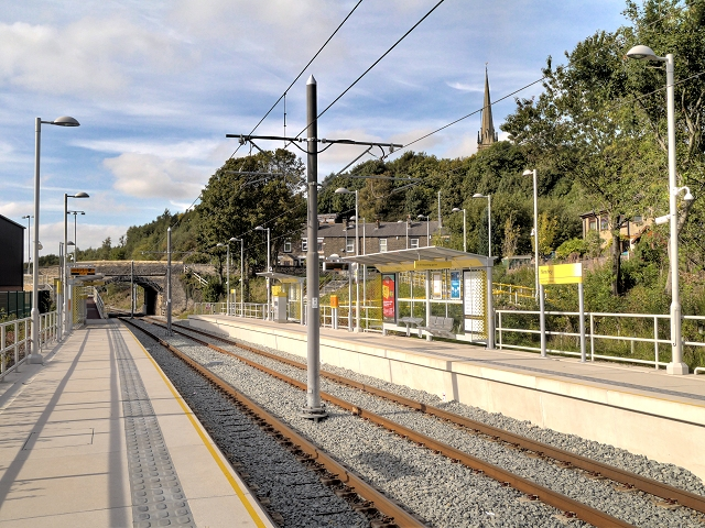 Newhey Metrolink Station