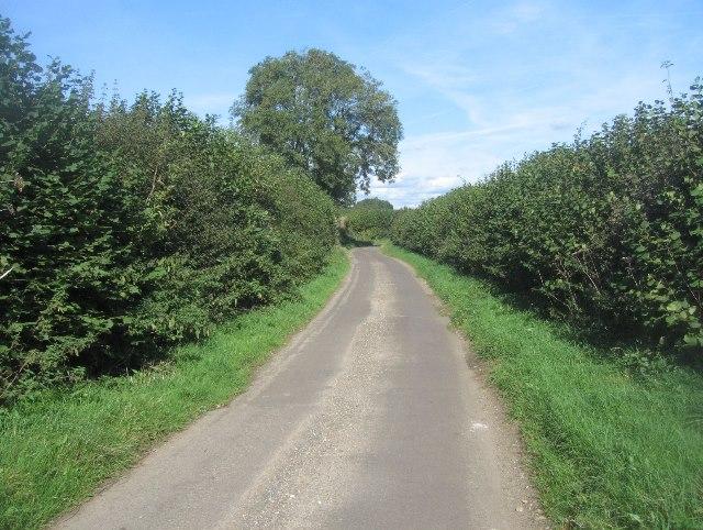 Hook Lane - heading north