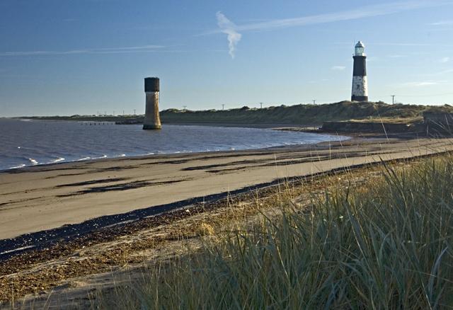 The beach near the pilot station, Spurn