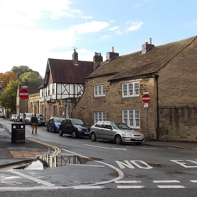 No entry to Bath Street, Bakewell