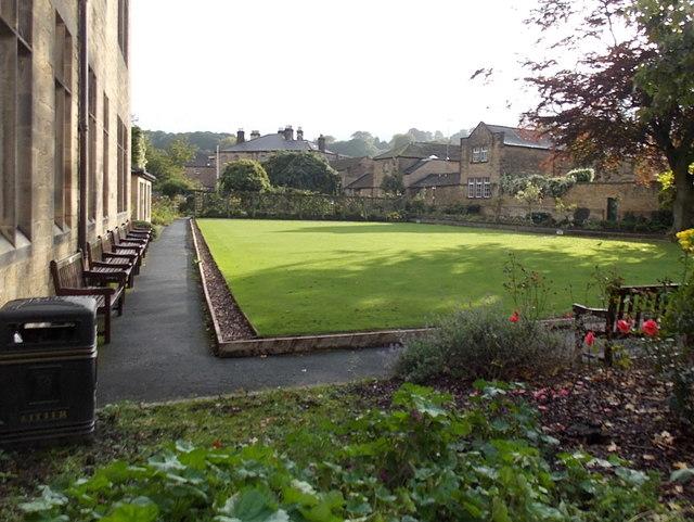 Bath Gardens bowling green, Bakewell