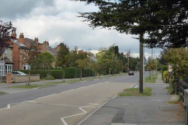 North Road, looking North