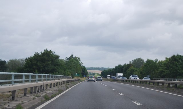 A404 crossing the River Thames