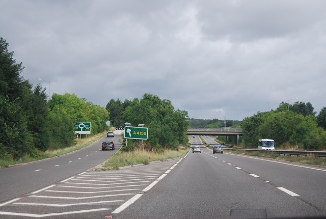 A404 / A4155 junction