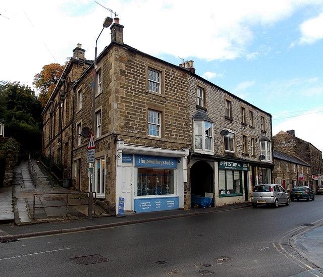 Buxton Road shops, Bakewell