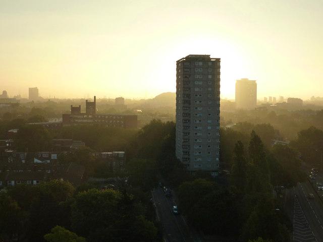 Hammersmith dawn