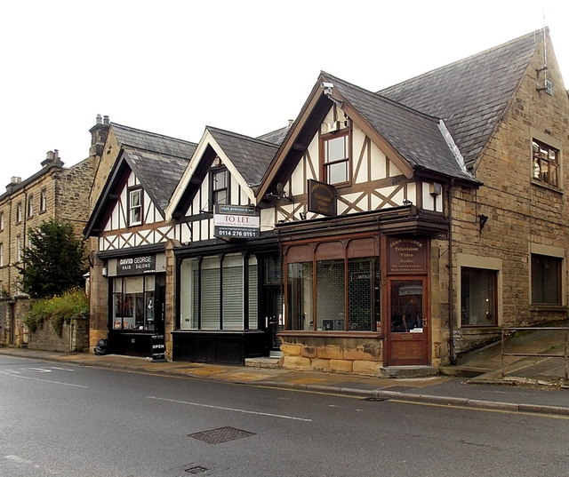 Three gables, three shops, Bakewell