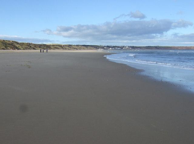Hunmanby Sands towards Filey