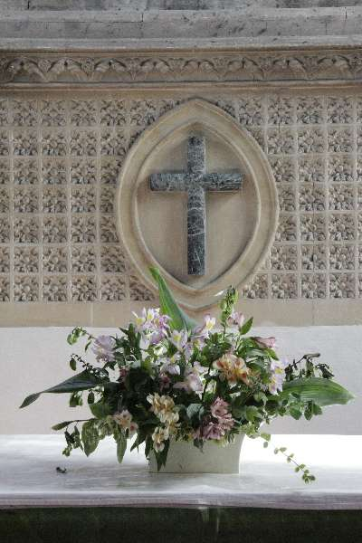 Flowers on the Altar