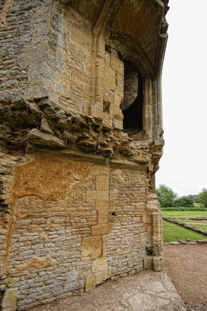 The ruins of Minster Lovell Hall, Minster Lovell