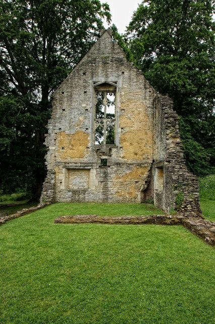 The ruins of Minster Lovell Hall, Minster Lovell