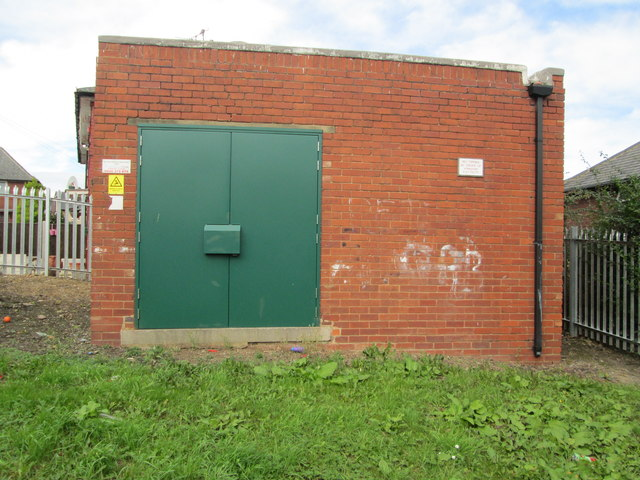 Electricity Substation No 2602 - St Wilfrid's Crescent