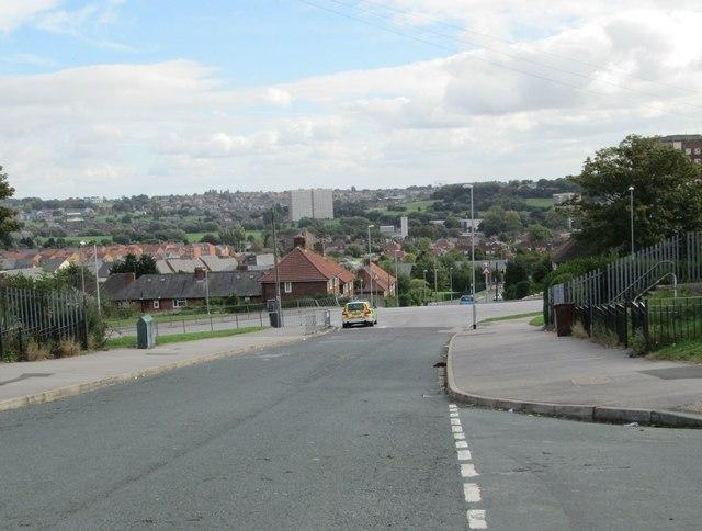 North Farm Road - St Wilfrid's Avenue