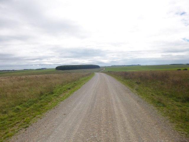 Tilshead, military road