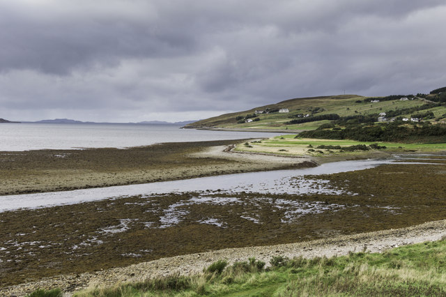 Mouth of Ullapool River
