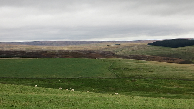 View over the Lammermuir Hills