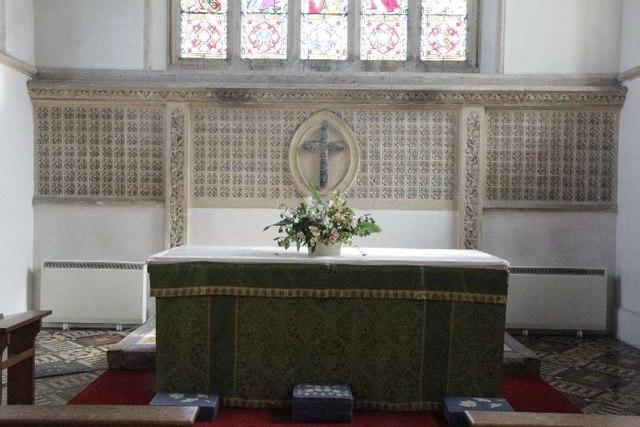 Altar in St Margaret