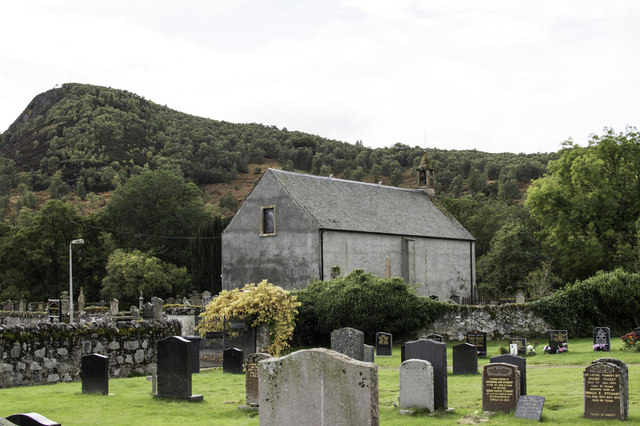 Contin Church and Burial Ground