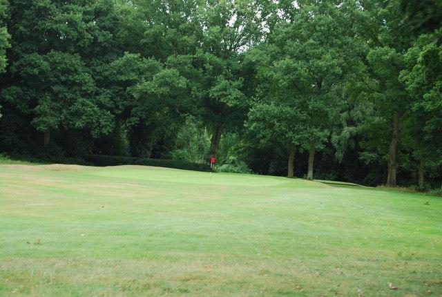 Green, Chorleywood Golf Course