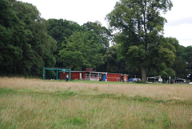 Cricket pavilion, Chorleywood Common