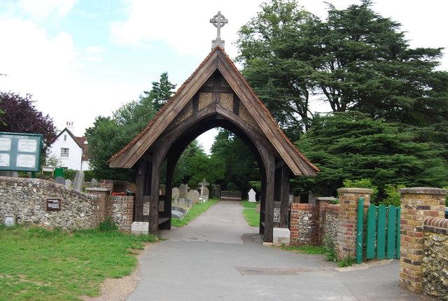 Lych gate, Christ Church