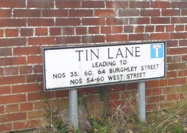 Tin Lane