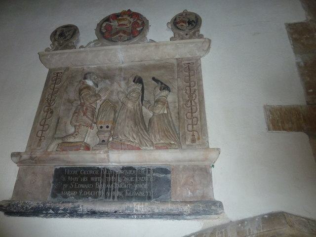 All Saints, Poyntington: memorial (3)