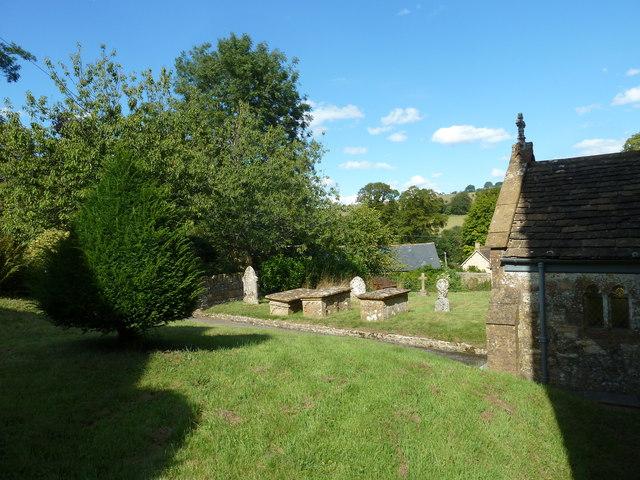 All Saints, Poyntington: churchyard (b)