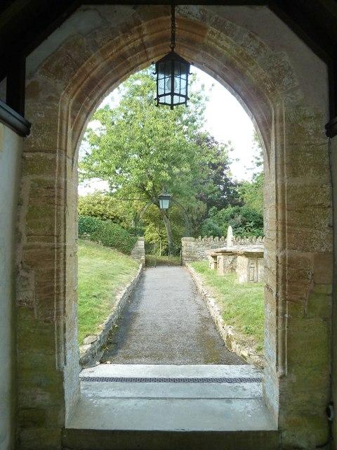 All Saints, Poyntington: churchyard (c)