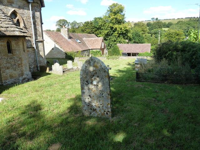 All Saints, Poyntington: churchyard (d)