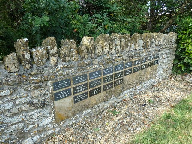 All Saints, Poyntington: churchyard (f)