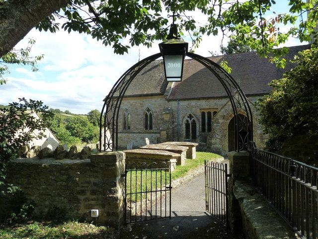 All Saints, Poyntington: churchyard (h)