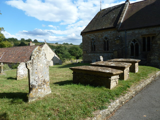 All Saints, Poyntington: churchyard (j)