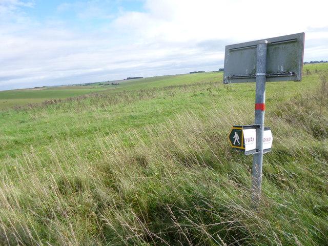 Tilshead, signpost