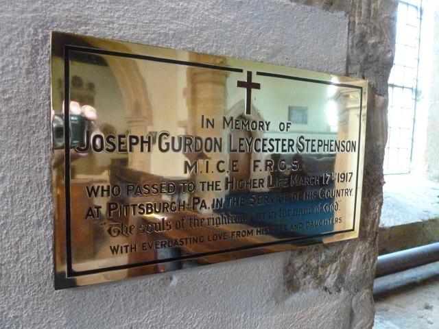 All Saints, Poyntington: memorial (5)