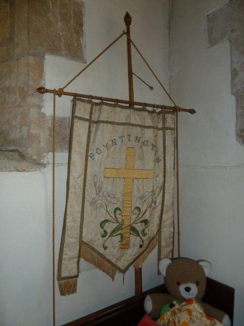 All Saints, Poyntington: banner